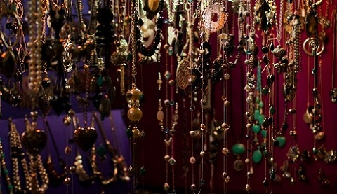 lots of jewelry necklaces