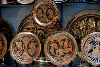 Widener University Art Collection Museum African pottery plates