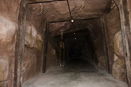 entrance to a coal mine in PA