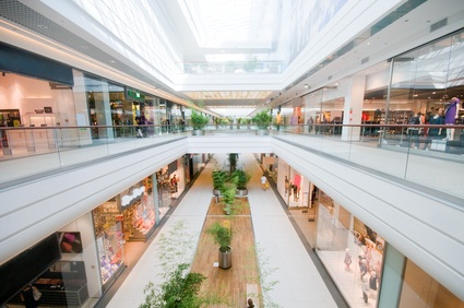 Pennsylvania  mall inside on the second floor
