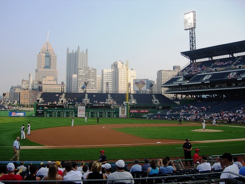 sports in pennsylvania pnc park pittsburgh pa baseball game
