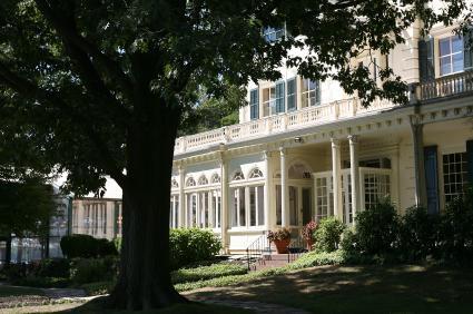 Glen Foerd on the Delaware white mansion