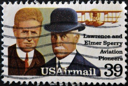 PA Air Heritage Museum sperry aviation pioneers stamp