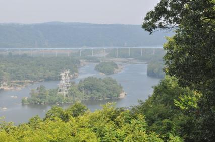 Susquehannock State Park Drumore PA, Lancaster County PA overlooking the Susquehanna River