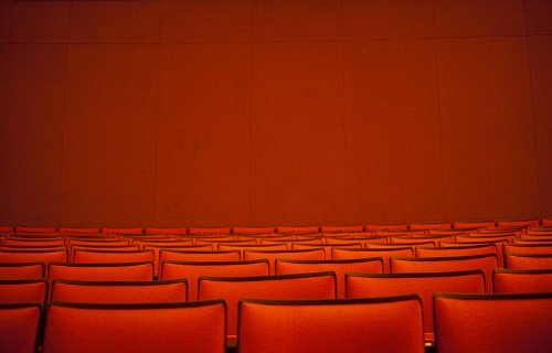 orange theater seats in PA