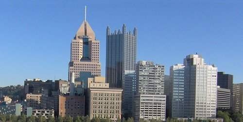 Pittsburgh PA skyline