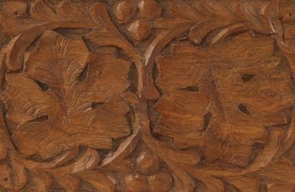 Wharton Esherick Museum wood carving of leaves